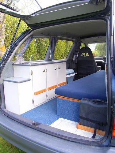 Van Conversion Ideas Layout 34