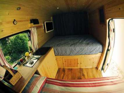 Van Conversion Ideas Layout 40