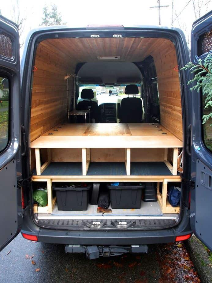 Van Conversion Ideas Layout 43