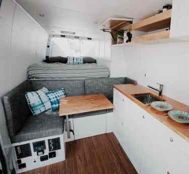 Van Conversion Ideas Layout 6