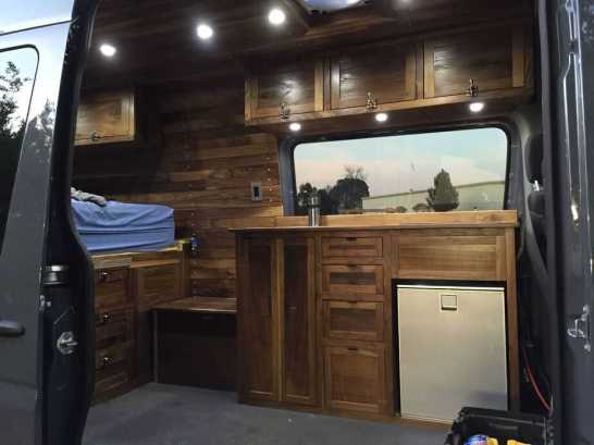 Sprinter Van Conversion Interiors 22