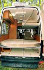 Van Conversion Ideas Layout 13