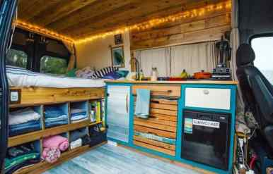 Camper Van Conversion 5