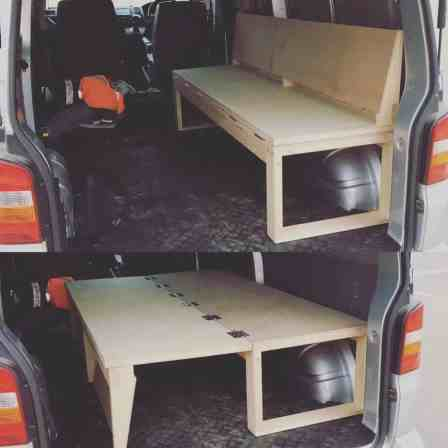 Camper Van Conversion 9