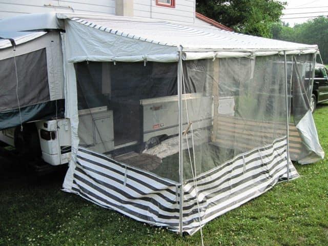 Camping Hacks Camper Pop Up 15