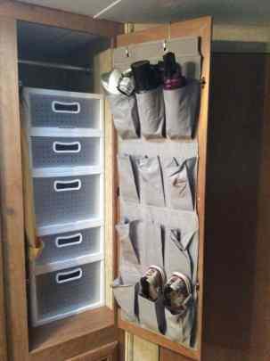 Rv Clothes Storage 1