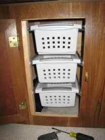 Rv Clothes Storage 16