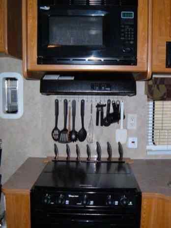 Camper Kitchen Organization 18