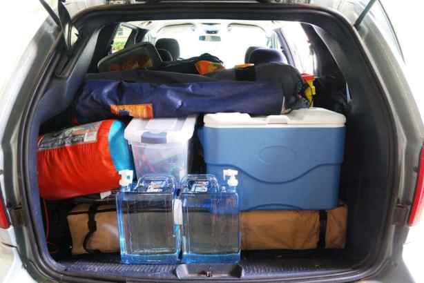 Packing Car For Camping 18