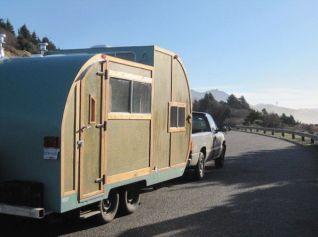 Homemade Camper Trailer Tiny Houses 16