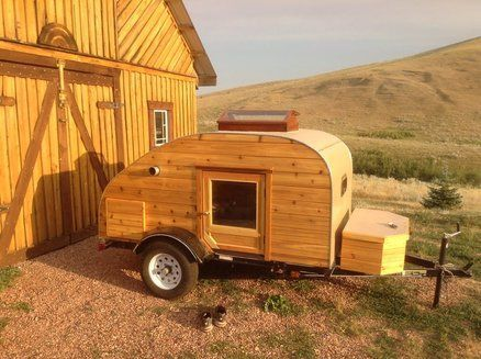 Homemade Camper Trailer Tiny Houses 24