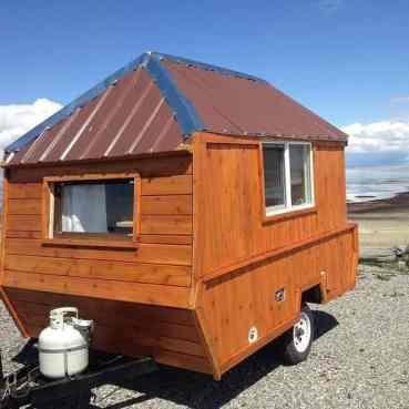Homemade Camper Trailer Tiny Houses 26
