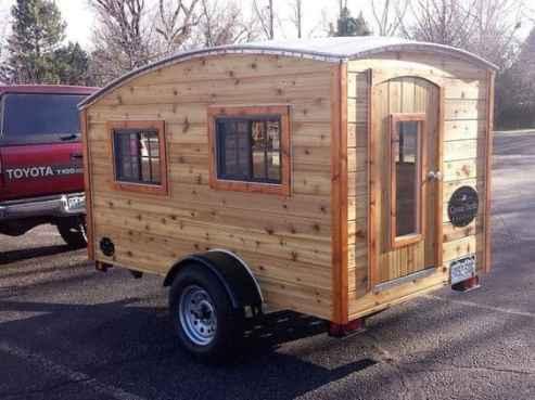 Homemade Camper Trailer Tiny Houses 27