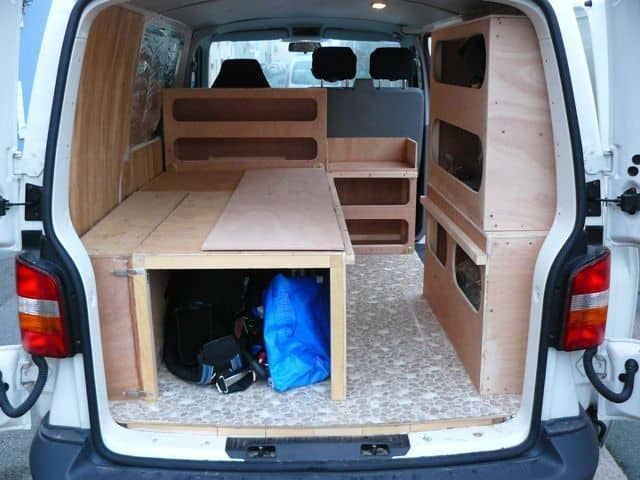 Camper Bed Ideas 18