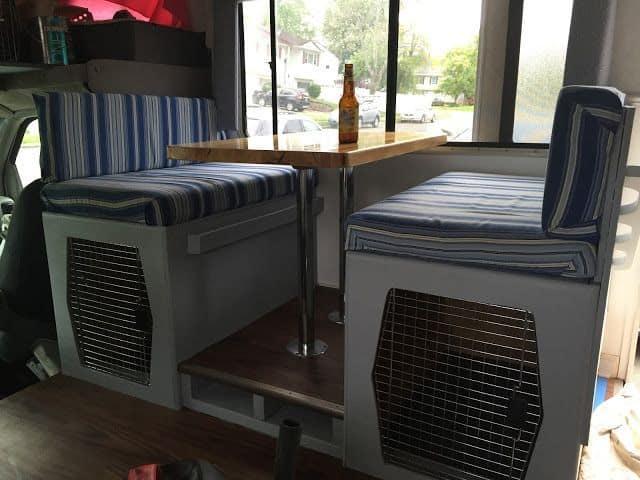 Camper Bed Ideas 21