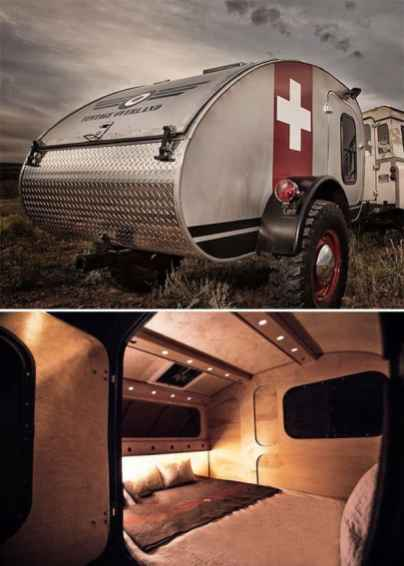 Teardrop Trailer Interior 21