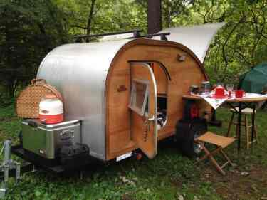 Teardrop Trailer Interior 22