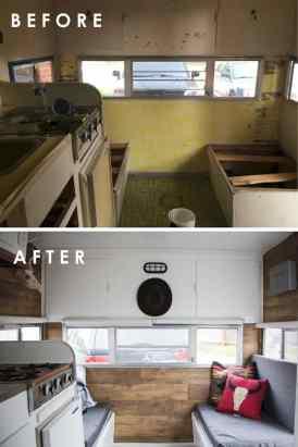 Vintage Camper Remodel 11