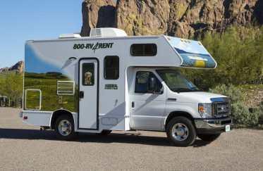 Compact RV Rental Model