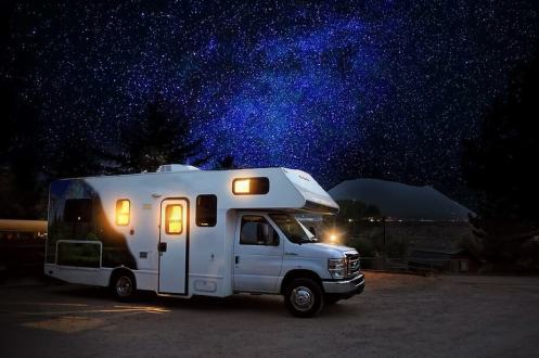 Dry Camping Under The Stars