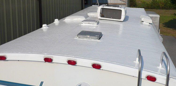 RV Roof Maintenance Coating