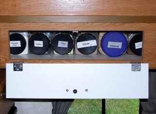 Rv Food Storage Shelves