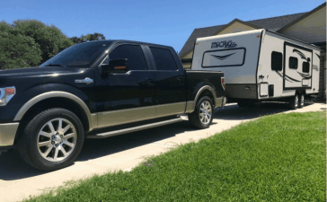 camper trailer towing