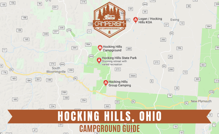 Campgrounds in Hocking Hills