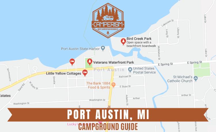 campgrounds in Port Austin Michigan