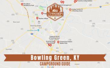 Campgrounds near Bowling Green Kentucky