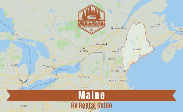 RV rental in Maine