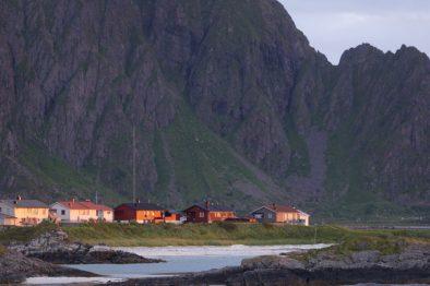 Bergmassiv Andenes-Camping