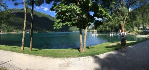 Unsere halbe Runde um den See