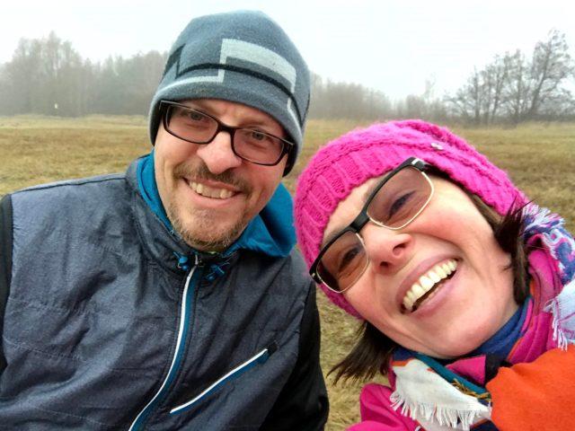 Silvester-Run mit Patenonkel & Freund David