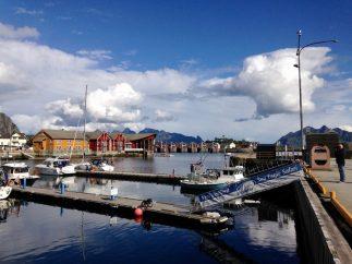 Hauptstadt der Lofoten: Svolvær