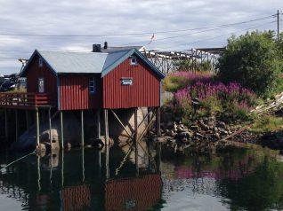 Stellenhäuser auf den Lofoten