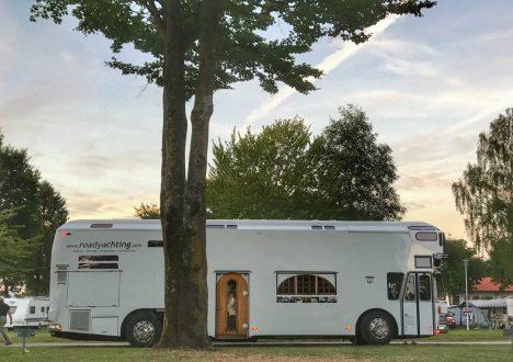 Roadyacht – nicht auf dem Caravan Salon, dafür auf der camp Roadshow