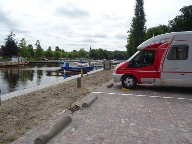 Camperplaats jachthaven Middenmeer.