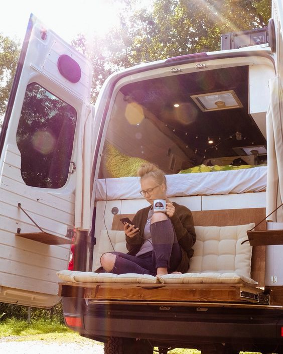19 THE IDEA of a Camper Van Backseat Chair