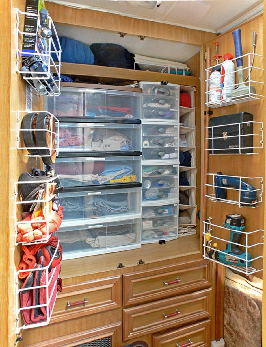 13 RV Storage Ideas Organization