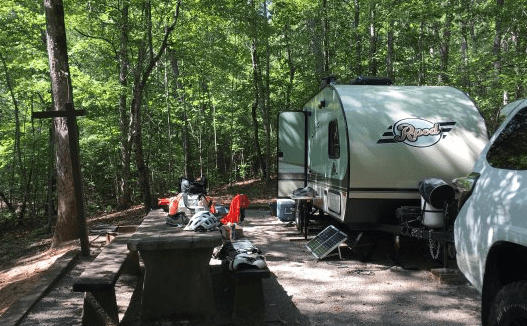 Lake Powhatan Recreation Area and Campground