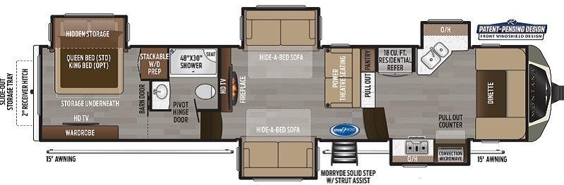 keystone-montana-3741fk-floorplan