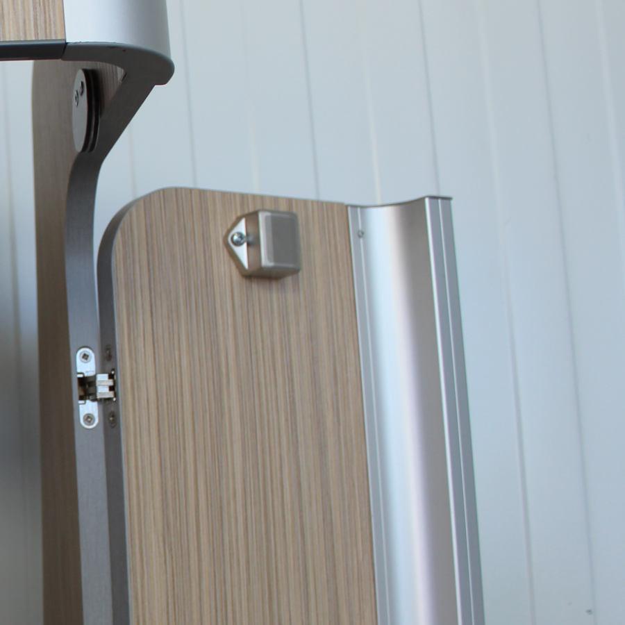 Campervan conversion kit aluminum corner profile.