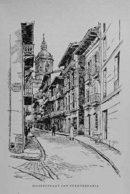 Fuentearribia. Tegenwoordig op z'n Baskisch Hondarribia. Een wonderschoon plaatsje, dat we hebben leren kennen dankzij het duo Alma en Van der Veen.
