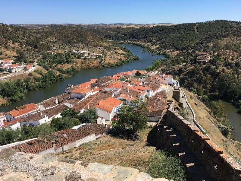 Mértola, een arendsnest in het binnenland van de Portugese Algarve