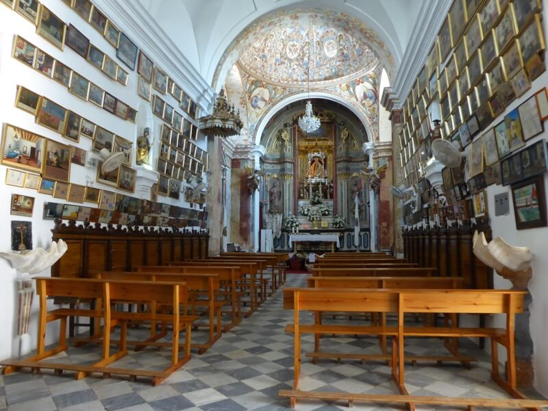 Het bedevaartsoord Nuestra Señore de los Santos