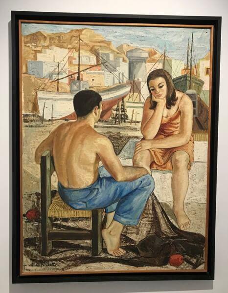Nr. 6. Een van de vele kunstwerken in het Museo de Arte Doña Pakyta.