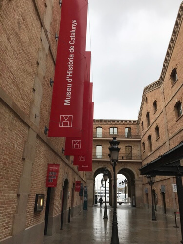 Het historische museum van Catalonië.