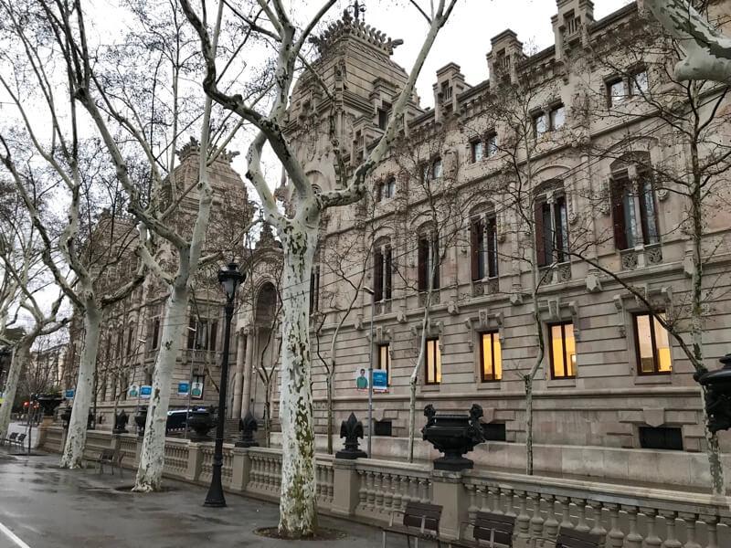 Het oude Paleis van Justitie.