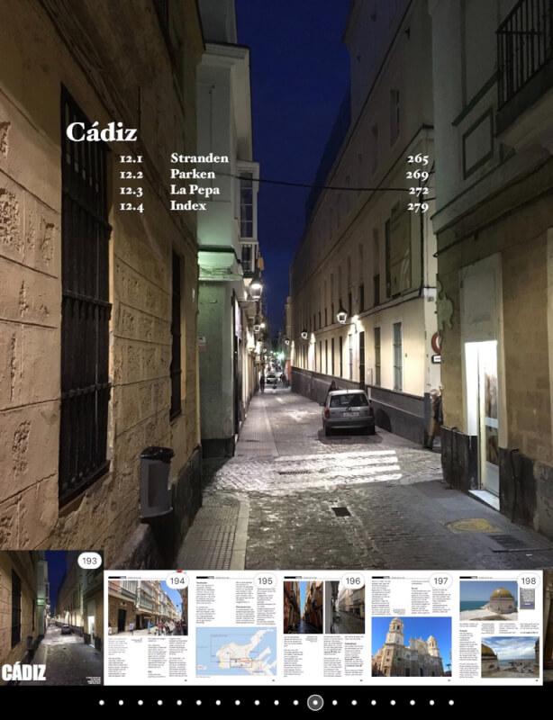 De overzichtspagina van ons hoofdstuk over Cádiz.